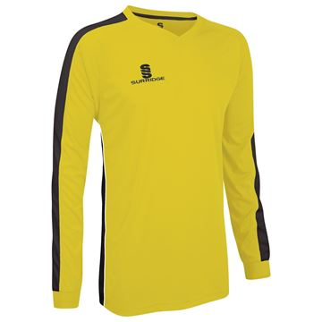 Afbeeldingen van Champion Shirt Yellow/Black