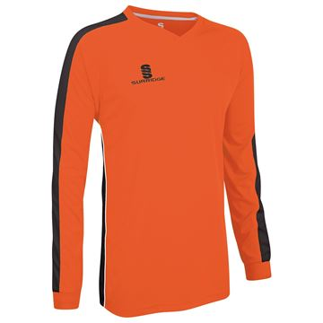 Afbeeldingen van Champion Shirt Orange/Black