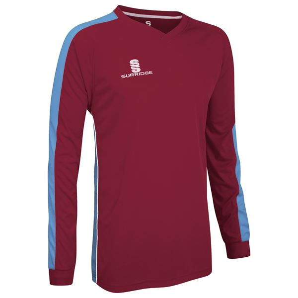 Picture of Champion Shirt Maroon/Sky