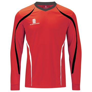 Afbeeldingen van Beta L/S Shirt Red/Black/White