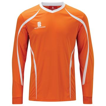 Image de Beta L/S Shirt Orange/White