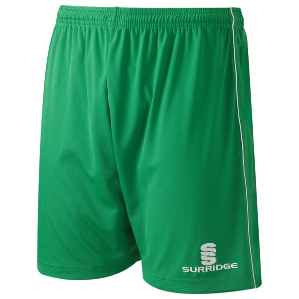 Bild von Classic Football Short - Emerald/White