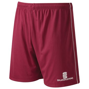 Picture of Classic Football Short - Maroon/White