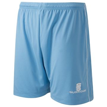 Picture of Classic Football Short - Sky/White