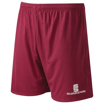 Picture of Surridge Match Short Maroon