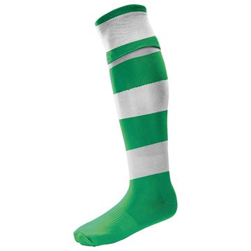 Afbeeldingen van Hooped - Green/White