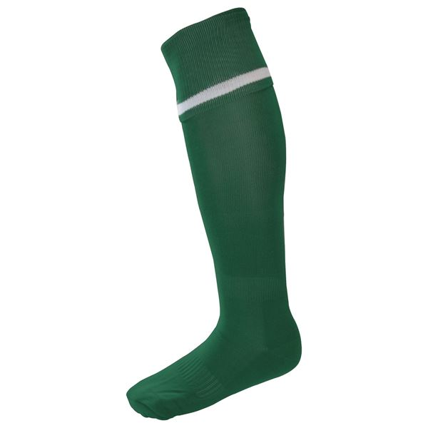 Afbeelding van Single Band Sock - Green/White