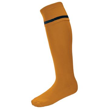 Afbeeldingen van Single Band Sock - Amber/Black