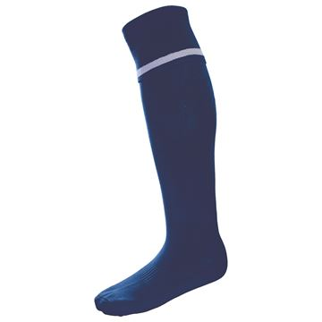 Image de Single Band Sock - Navy/White