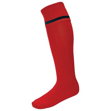 Afbeeldingen van Single Band Sock - Red/Black