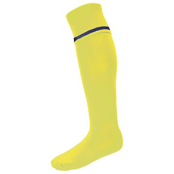 Afbeeldingen van Single Band Sock - Yellow/Royal