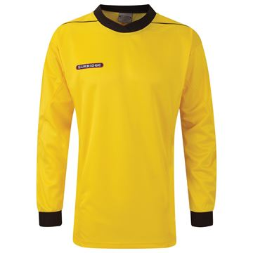Bild von Goalkeeper Padded Shirt - Yellow/Black