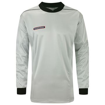 Afbeeldingen van Goalkeeper Padded Shirt - Silver/Black