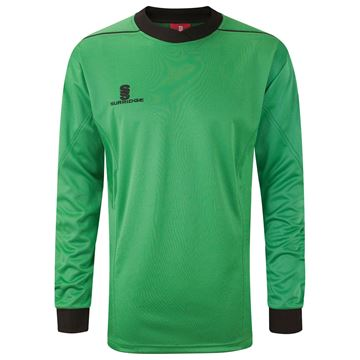 Afbeeldingen van Goalkeeper Padded Shirt - Green/Black
