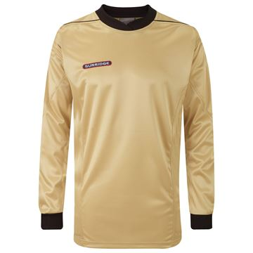 Afbeeldingen van Goalkeeper Padded Shirt - Gold/Black