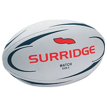 Image de Surridge Match 4 Ply All Weather Rugby Ball