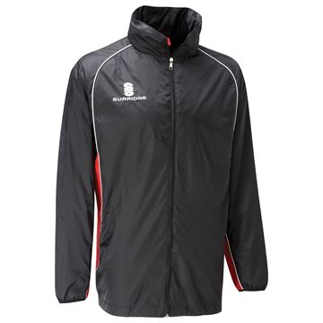 Afbeeldingen van Training Jacket - Black/Red