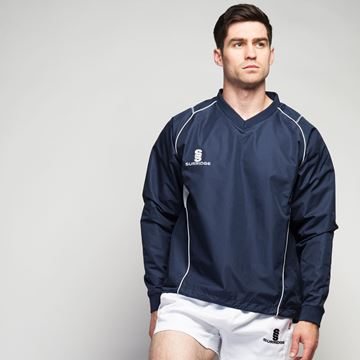 Bild von Curve Run Out Top - NAVY