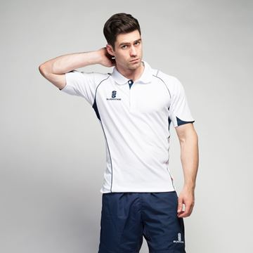 Image de Curve Polo Shirt - White/Navy