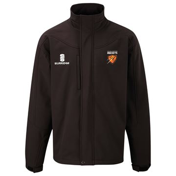 Picture of Cramlington Rockets Soft Shell Bonded Jacket - Black