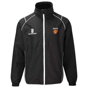 Picture of Cramlington Rockets TRACKSUIT TOP - BLACK/WHITE