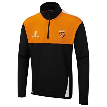 Afbeeldingen van Cramlington Rockets Blade Performance Top : Black / Orange / White