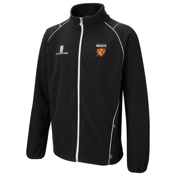 Afbeelding van Cramlington Rockets Curve Fleece - Black/White