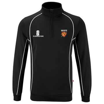 Afbeeldingen van Cramlington Rockets Performance Top : Black/White