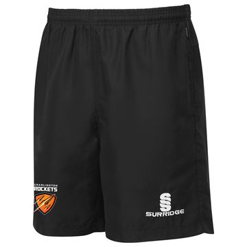 Picture of Cramlington Rockets Pocketed Training Shorts - Black