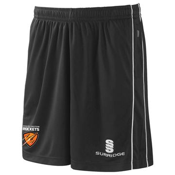 Picture of Cramlington Rockets Polywaffle Training Shorts - Black