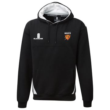 Picture of Cramlington Supporters Hoodie  : Black / White