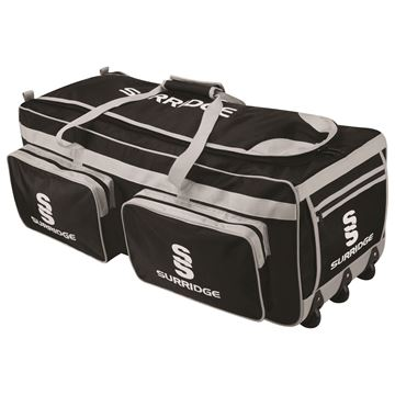 Picture of Cramlington Large Holdall -Black/Silver/White
