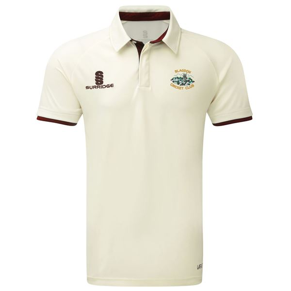 Afbeelding van Blagdon CC Short Sleeved Cricket shirt