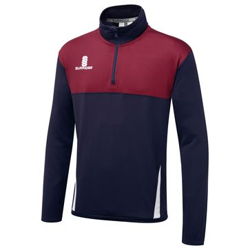 Afbeeldingen van Blade Performance Top : Navy / Maroon / White