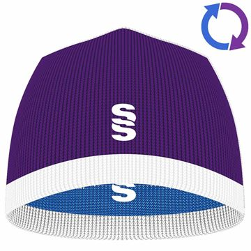 Picture of Reversible Beanie PURPLE/ROYAL