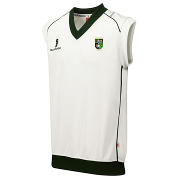 Picture of BOROUGHMUIR CRICKET CLUB CURVE SLEEVELESS SWEATER
