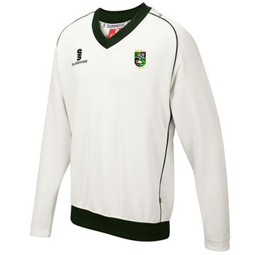 Picture of BOROUGHMUIR CRICKET CLUB CURVE LONG SLEEVE SWEATER