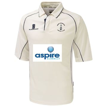 Picture of Great Harwood CC Senior Premier 3/4 sleeved playing shirt