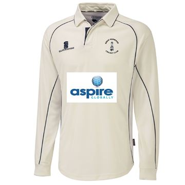 Picture of Great Harwood CC Senior Premier long sleeved playing shirt
