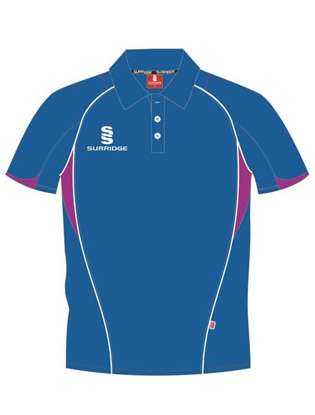 Picture of POLO SHIRT ROYAL/MAGENTA
