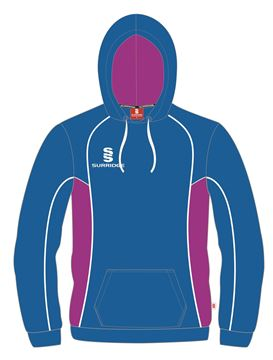 Picture of HOODY ROYAL/MAGENTA