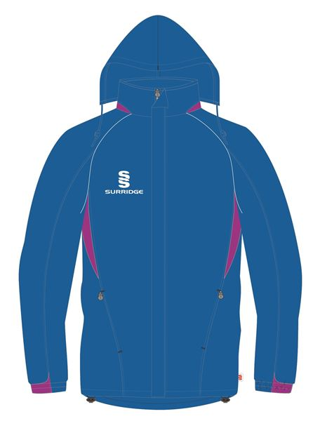 Image sur RAIN JACKET ROYAL/MAGENTA