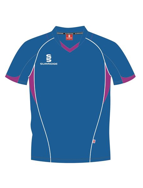 Picture of T-SHIRT ROYAL/MAGENTA