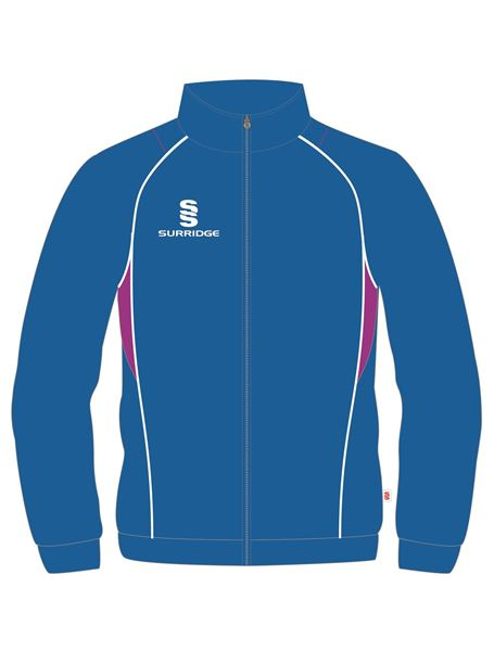 Picture of TRACKSUIT TOP ROYAL/MAGENTA