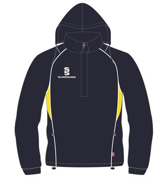 Image de CURVE RAIN JACKET NAVY/YELLOW
