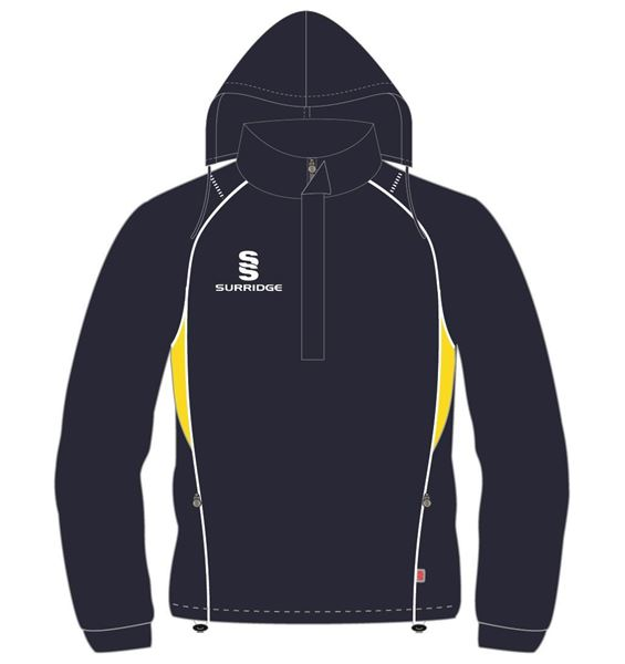 Picture of CURVE RAIN JACKET NAVY/YELLOW