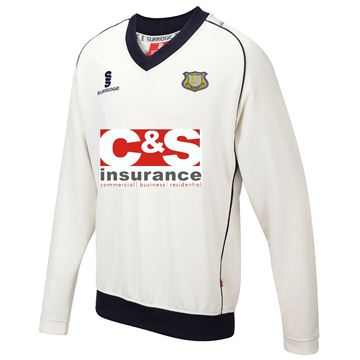 Picture of Canvey Island CC Long Sleeved Sweater