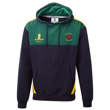 Picture of New Longton CC Blade Hoody - Navy / Bottle / Amber