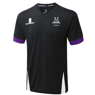 Image de Madeley Academy 6th Form - Blade Training shirt - Black Purple White