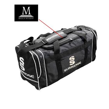 Imagen de Madeley Academy 6th Form - Small Holdall - Black
